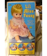 Vintage Lil Miss Fussy Doll Box by Topper - $9.99