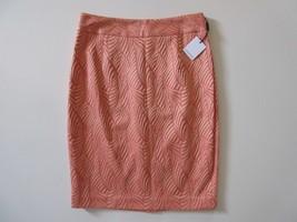 NWT Calvin Klein Porcelain Rose & Bellini Combo Jacquard Straight Pencil... - $23.98