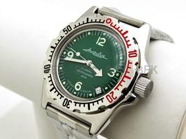 Vostok Amphibian. Russian Military Man Auto Watch. Diver 200 M. Amphibia 110348 - $53.88