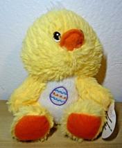 """Fuzzy Friends Yellow Duck Stuffed Soft Plush Animal 6"""" - $13.86"""