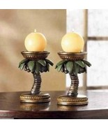 36006 Gallery of Light Tropical Palm Candleholders - $11.79