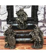 Ebros Gift Small Norse Viking Warlock Gods and Sorcerer Statue Set of 3 ... - €21,31 EUR