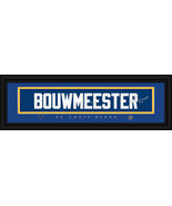 Jay Bouwmeester St. Louis Blues Player Signature Stitched Jersey Framed ... - $39.95
