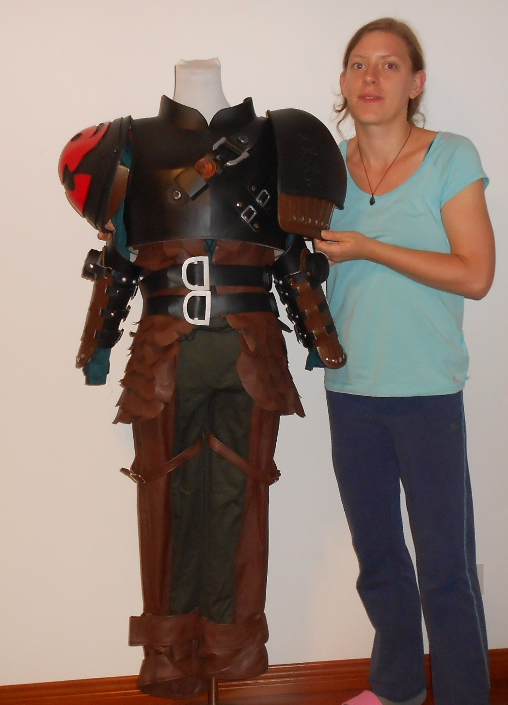 Hiccup cosplay costume and prop armor from and 50 similar items hiccup costume and armor from how to train your dragon 2 1 ccuart Gallery