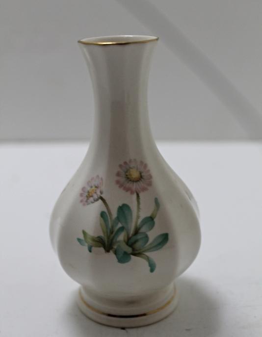 Vintage Miniature Arklow Ireland Art Collection Porcelain Bud Vase