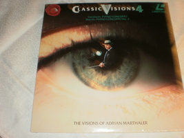 Classic Visions 4: The Visions of Adrian Marthaler sealed Laserdisc  - $34.95