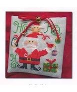 Ho Ho Ho - Santa and Friends cross stitch chart Barbara Ana Designs - $8.10