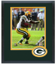 Eddie Lacy 2014 Green Bay Packers-11 x 14 Team Logo Matted/Framed Photo - $42.95