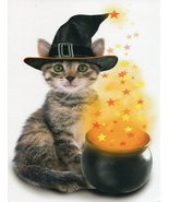 """Greeting Card Halloween """"Hope Halloween's a special blend of magic.."""" - $1.50"""