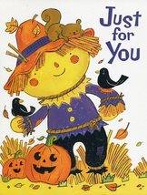 "Greeting Card Halloween ""Just for You"" - $1.50"
