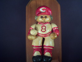 Cincinnati Reds Wall Plaque Joe Morgan Handmade #8 Retired number Redleg... - $21.95