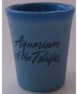 Aquarium of the Pacific Logo - Decor Shot Glass - Blue - $9.99