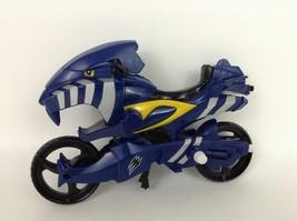 Power Rangers Jungle Fury Toy Motorcycle Blue Jaguar Strike Rider Bandai 2007 - $12.82