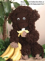 W671 Crochet PATTERN ONLY Josua the Monkey Toy Doll Pattern - $7.50