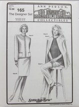 Stretch & Sew Sewing Pattern - Ann Person Collectibles #165 - The Design... - $15.50
