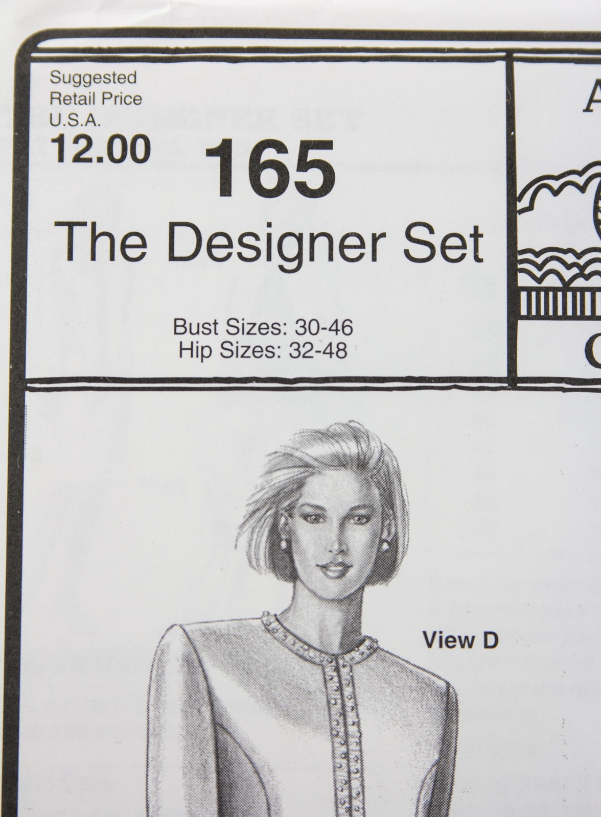 Stretch & Sew Sewing Pattern - Ann Person Collectibles #165 - The Designer Set