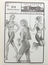 Stretch & Sew Sewing Pattern- Ann Person Collectibles #314 - Workout Basics - $10.50