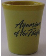 Aquarium of the Pacific - Decor Shot Glass - Yellow - $9.99