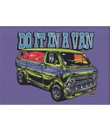 Dirty Donny Do It In a Van Collectible Fridge Magnet - Purple - $5.00