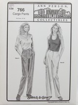 Stretch & Sew Sewing Pattern- Ann Person Collectibles #766 - Cargo Pants - $11.50