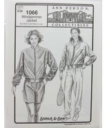 Stretch & Sew Sewing Pattern- Ann Person Collectibles #1066 -Windjammer ... - $11.50