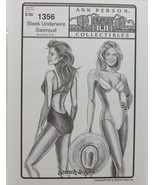 Stretch & Sew Sewing Pattern- Ann Person  #1356 - Sleek Underwire Swimsuit - $11.50