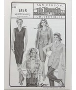 Stretch & Sew Sewing Pattern- Ann Person Collectibles #1515 - Vest Dressing - $11.50