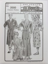 Stretch & Sew - Ann Person Collectibles #2000 - Classic Robes - $11.50