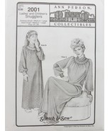 Stretch & Sew Sewing Pattern - Ann Person #2001  Ladies and Children's S... - $11.50