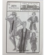 Stretch & Sew - Ann Person Collectibles #2074 Wrap Kimonos - $10.50