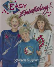 Stretch & Sew Book - Easy Embellishing! by Ann ... - $16.50