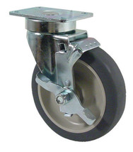 "5"" CASTER With Brake Plate 250# Heavy Duty NEW 35561 - $34.00"