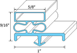 "Gasket Door 22 3/4"" X 25"" Snap In Mount For Victory Vur 5 24 Bt Vur3 Bt 741159 - $56.00"