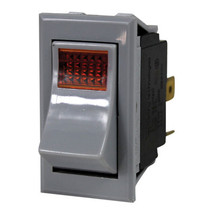 LIGHTED ROCKER SWITCH 7/8 X 1-1/2 DPST for Wells Fryer Star Kettle FC-18... - $38.00