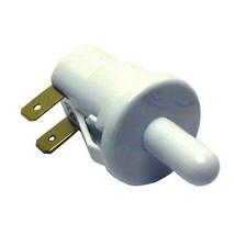 """Light Switch Push Snap In 3/4"""" Hole N.C. 5 Amp/125 250 V White For Glenco 421405 - $36.00"""