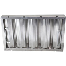 "BAFFLE-TYPE GREASE FILTER W/Handles Galvanized 10"" X 20"" X 2"" for CHG 26... - $69.00"