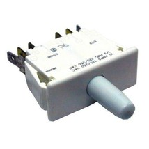 Fan & Light Push Button Switch 10 Amp 125/250 V Snap In For Beverage Air 421400 - $58.00