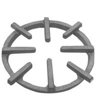 RING GRATE 9-7/8D 11-1/8 LONGST PT Rough Cast Iron for Garland Range 44 ... - $80.00