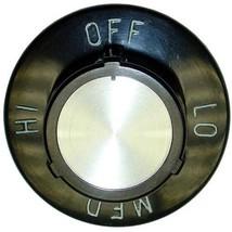 KNOB 2-1/2 DIA OFF-LO-MED-HI for Star Hot Dog Grill Griddle 29 Electric  221419 - $63.00