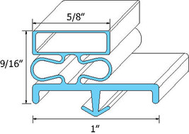 "Gasket Door 22"" X 28"" Snap In For Victory Uf 48 Ur 27 Ur 48 Ur 48 10 A 741188 - $62.00"