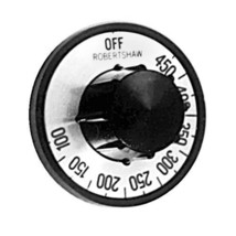 """DIAL 2"""" DIA OFF-450-100 Black/Silver for Star Grill Electric 9SG 154 156 221004 - $37.00"""