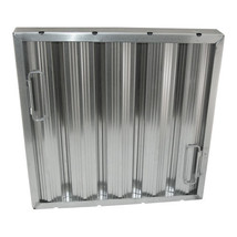 FILTER GREASE 16 X 16 X 2 W/Handles Baffle-Type Stainless Steel Seamless... - $139.00