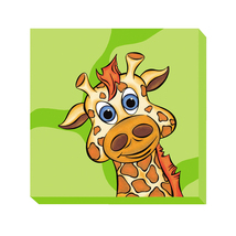 Kid Kusion Preschool Daycare Giraffe Green Zoo... - $55.99
