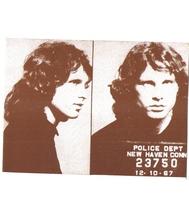 Doors Jim Morrison Mug Shot WB Vintage 11X14 Sepia Music Memorabilia Photo - $9.95