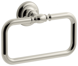 Kohler K-72571-SN Artifacts Towel Ring Bathroom Hardware Vibrant Polishe... - $106.38