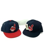 Cleveland Indians Vintage MLB Fitted 100% Wool Ball Cap (New) by New Era - $32.99+