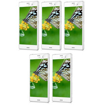 5X Clear Crystal Transparent Screen Protector Guard Shield For Sony Xperia Z3 4G - $7.99