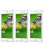3X Clear Crystal Transparent Screen Protector Guard Shield For Sony Xper... - $6.99
