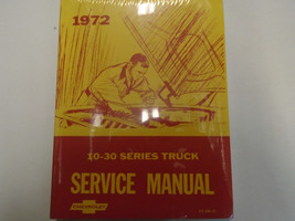 1972 Chevrolet Chevy 10 20 30 Series Service Repair Shop Manual Second Printing - $53.46
