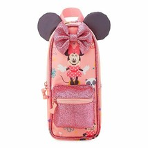 Wdw Disney Minnie Mouse Pencil Case Brand New - $12.99